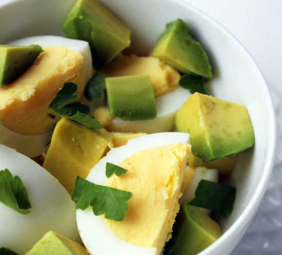eggs and avocado to lose weight