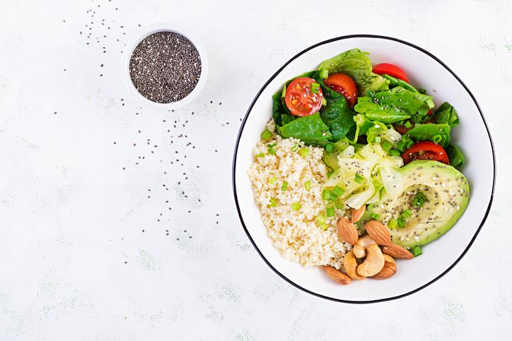 meal plans Toronto: plant based meal plan bowl