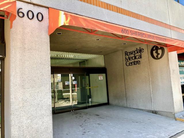 JM Nutrition Downtown Toronto Office Building Exterior Entrance