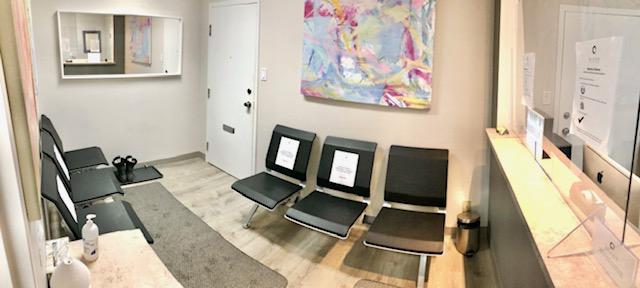 JM Nutrition Downtown Toronto Waiting Room Interior