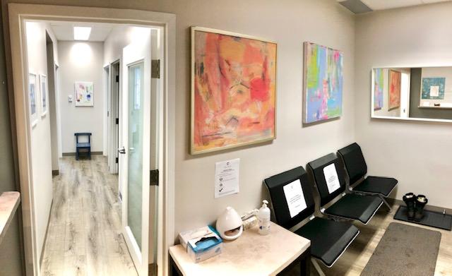 JM Nutrition Downtown Toronto Office Reception Area